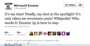 Encarta's Time to Shine!