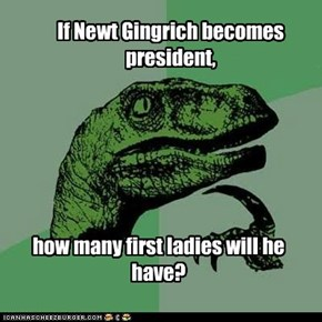 How Newt GinGrinch Stole ALL the ladies