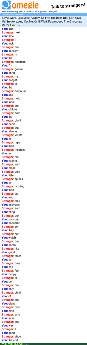 Epic Omegle Storytale