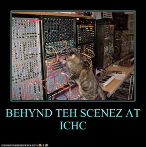 BEHYND TEH SCENEZ AT ICHC