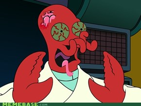 need a zombie? why not zoidberg?