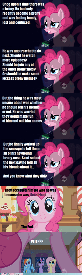 Pinkie Pie Doesn't Do Scary Stories