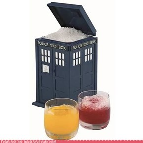 TARDIS Ice Bucket