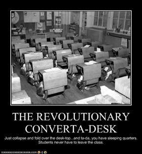 THE REVOLUTIONARY CONVERTA-DESK