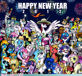 Happy new year, Everypony!
