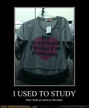 I USED TO STUDY