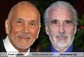 Frank Langella Totally Looks Like Christopher Lee