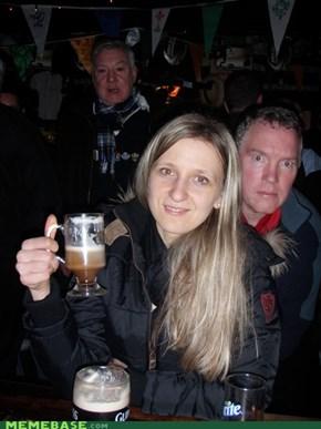 Dublin Photobomb
