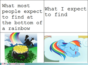 Rainbows Would Be Twenty Percent Cooler