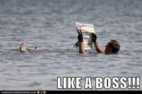 LIKE A BOSS!!!