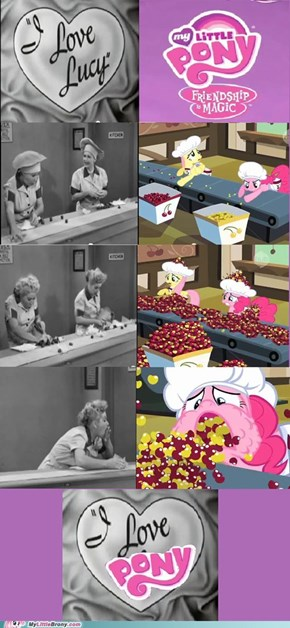 Lucy & Ponies, Who Could Ask for More?