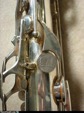 Saxophone Repairs 25¢