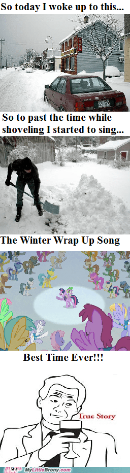Winter Wrap Up Make Chores Better