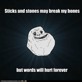 Forever Alone Guy: Stiksand Stones
