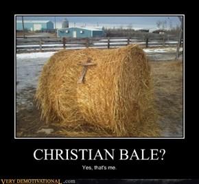 CHRISTIAN BALE?
