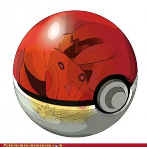 This is why Pikachu hates pokéballs...