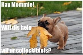 Hay Mommie!