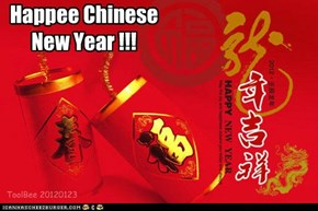 Happee Chinese New Year !!!