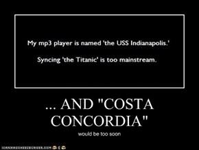 """... AND """"COSTA CONCORDIA"""""""