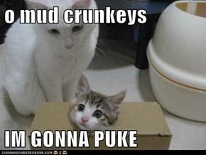 o mud crunkeys  IM GONNA PUKE