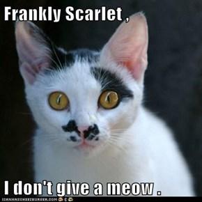 Frankly Scarlet ,