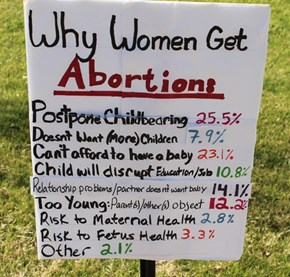 I have a second photo that goes with the first one - Why Women Get Abortions 1