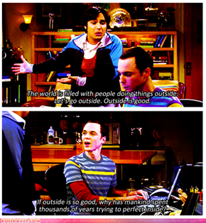 Sheldon's Got A Point...