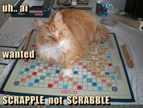 uh.. ai  wanted SCRAPPLE  not  SCRABBLE