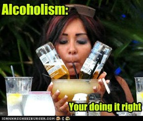 You go Snooki.