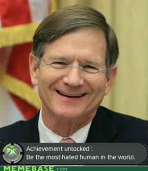 Congratulations, Senator!