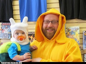 Kid Cosplay: Adventure Time!