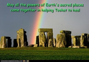 Powerful Healing for Tookat from Gaia
