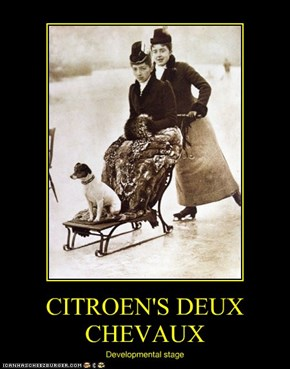 CITROEN'S DEUX CHEVAUX