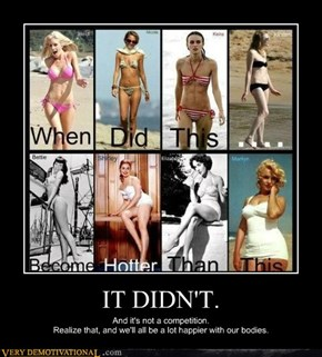 IT DIDN'T.