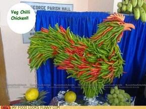 Spicy Vegetarian Chicken