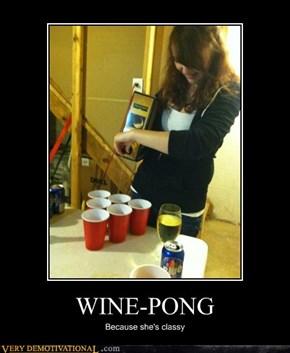 WINE-PONG