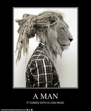 A MAN