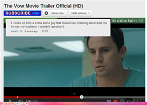 """Movie Plot For """"The Vow"""" Dismantled In Like Five Seconds"""