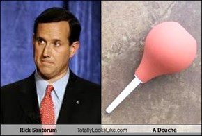 Rick Santorum Totally Looks Like A Douche
