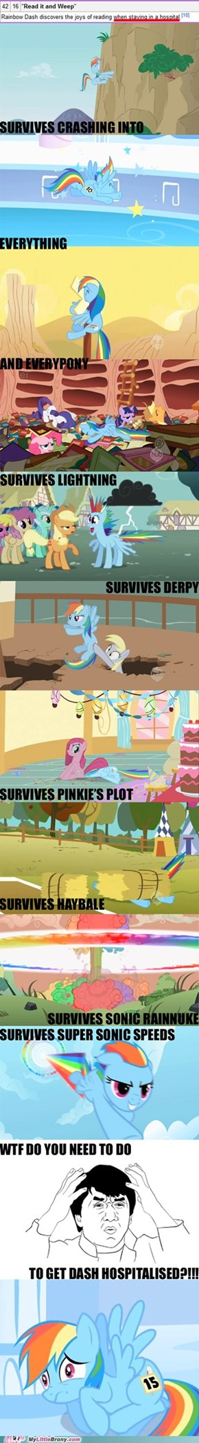 What Is Planned for Rainbow Dash?