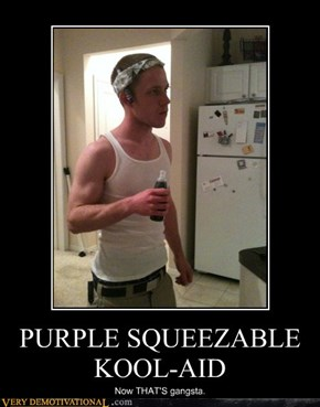 PURPLE SQUEEZABLE KOOL-AID