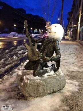 Hendrix Statue WIN