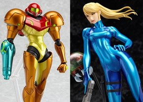 Metroid Samus Action Figures of the Day