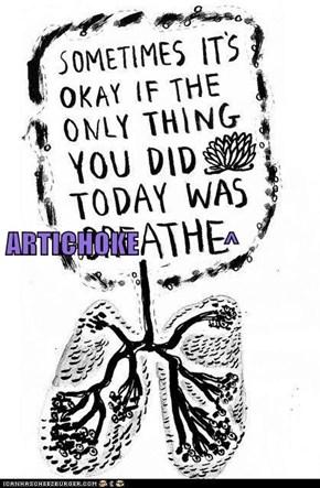 ARTICHOKE               ^