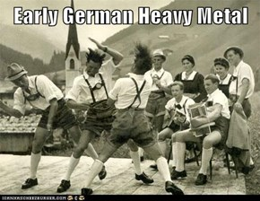 Early German Heavy Metal