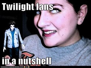 Twilight fans  in a nutshell