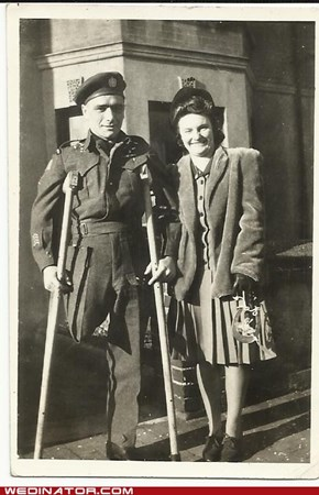 Wartime Wedding