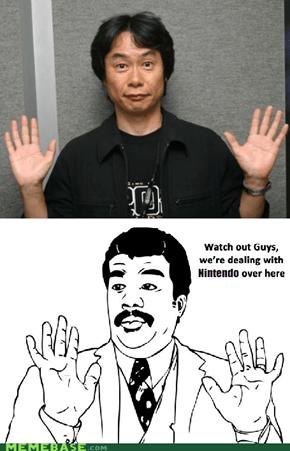Miyamoto-san is a Badass!