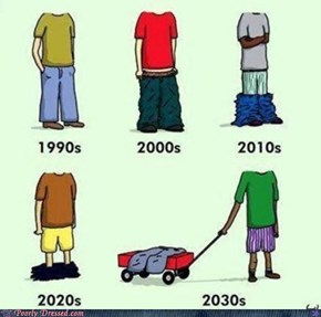 In 2040 Pants Won't Even Exist Anymore