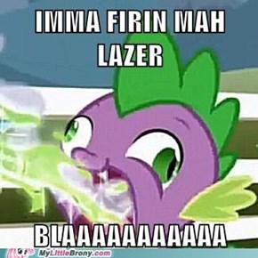 Spike's lazer